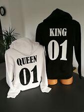 Sweatshirt/Hoodie KING & QUEEN für Pärchen *Liebe*Love*Couple*Paar*