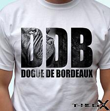Ddb dogue de bordeaux-chien t shirt top tee design-homme femme enfants bébé tailles