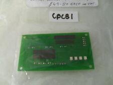 Carver Fanmaster Turbo printed circuit board PCB for caravan slide switch CPCB1