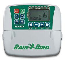 Programador de riego Rain Bird ESP RZX 4,6 y 8 est Int y Ext