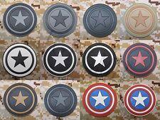 The Avengers CAPTAIN AMERICA 3D PVC Patch
