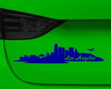 Aufkleber Los Angeles mit Sehenswürdigkeiten  11 Farben 2 Größen