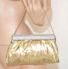 POCHETTE borsello donna ORO cerimonia borsa elegante borsetta clutch bolsa 960
