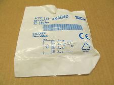 1 NIB SICK VTE18-4N4840 VTE184N4840 PROXIMITY SENSOR 10 - 30 V DC