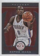 2013 Totally Certified Red #53 Serge Ibaka Oklahoma City Thunder Basketball Card