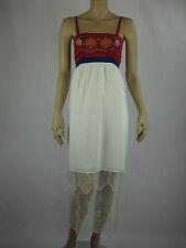 Fleurette by Fleur Wood Ladies Ivory Contrast Dress sizes 6 12 14 16 Ivory Multi