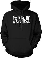 Im Kind Of A Big Deal Ron Burgundy Anchorman Funny Hoodie Pullover Sweatshirt