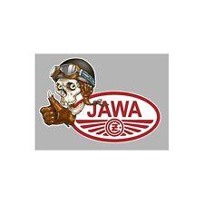 Sticker JAWA/CZ left skull gauche