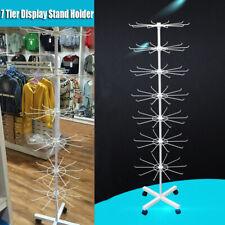 360° Rotating Jewellery Display Rack Necklace Bracelet Organiser Holder Stand