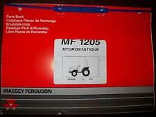 Massey Ferguson MF1205 : catalogue de pièces 1997