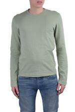 Dolce & Gabbana Men's Green Crewneck Long Sleeve T-Shirt US XXS XS