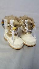Aquarius Foxy Junior Mucker/Snow Boots White Sizes 4 - 1 Toddler/kids