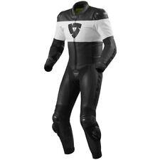 Rev'It Nova Mens 1-pc Leather Suit Black/White