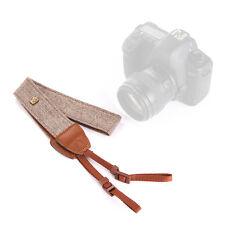 Vintage Shoulder Neck Belt Cotton Strap For DSLR Canon Sony Nikon Olympus Pentax