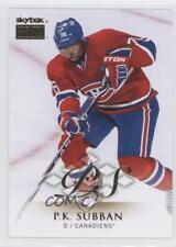 2013-14 Fleer Showcase Skybox Premium #14 PK Subban Montreal Canadiens P.K. Card