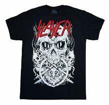 SLAYER - Big White Skulls - T SHIRT S-M-L-XL-2XL Brand New - Official T Shirt