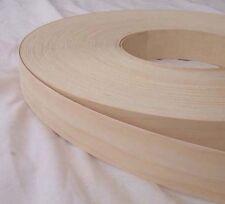 Birch Iron on Edging Pre Glued Real Wood Veneer Tape 18mm 22mm 30mm 40mm 50mm