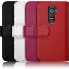Housse Coque Etui Portefeuille pour LG G2 couleur
