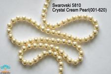 100 Beads Swarovski #5810 Crystal Cream Pearl 001-620