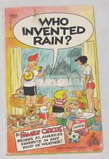 Book - Who Invented Rain - Family Circus - Humor