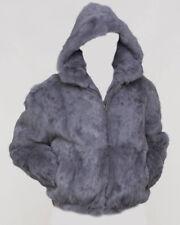 NEW Mens Genuine Mink Rabbit Fox 100% Real Authentic Fur Winter Coat Jacket USA