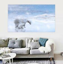 3D Arctic Ice Polar Bear P31 Animal Wall Stickers Vinyl Wallpaper Mural Wall Zoe