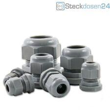 13 → 18mm 1 Stück Kabelverschraubung PG21 Polyamid grau unbenutzt