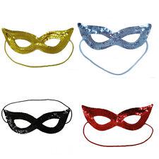 Unisexe Super Hero Sequin Masque Yeux Pour Hommes Femmes Fancy Dress Party festives