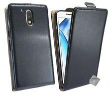Housse etui coque pochette PU cuir fine pour Motorola Moto G4 Plus + film ecran