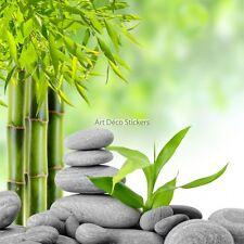 Stickers muraux déco : Galets bambous zen réf 11026 11026