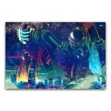 62291 Daft Punk The Weeknd Starboy DJ Hip Hop Music FRAMED CANVAS PRINT UK