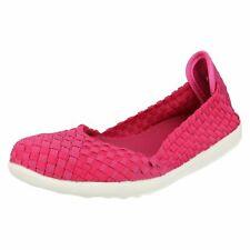 DOWN TO Tierra f8r0219 Fucsia Para Dama Elástico Zapatos Planos mocasín (r41a)(