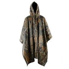 Waterproof Military Camouflage Raincoat Hooded Poncho Hunting Hiking 9859HC