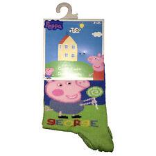 PEPPA PIG Calcetines largo 80%algodón 15%poliamida 5%elastano de niño
