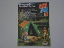 advertising Pubblicità 1976 BIG JIM MATTEL