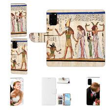 Samsung Galaxy S20 Individuelle Handy Hülle Tasche mit Bilddruck Götter Ägyptens