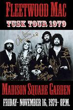 Rock: Fleetwood Mac at Madison Square Garden Concert Poster * Tusk Tour * 1979