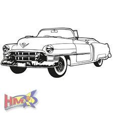 HM © Wall Tattoo Car Retro Oldtimer US Car 150x67 cm wt-0036