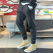 Mens Casual Skinny Taper Sport Pants Trendy Sweatpants Hipster Hip Trousers