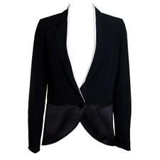 Costume National Costume Silk Trim Tux Jacket