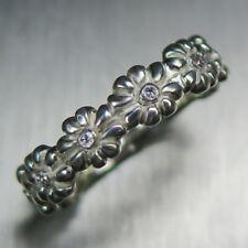Natural Diamond 14k 18k 9ct Gold Platinum Palladium Engagement wedding band ring