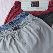 9 Boxer Boxer coton sous-vêtements Homme Rayé NEUF