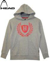 Boys Hoody Grey Head Brand Pull Over Hooded Jumper Hoodie Sweatshirt.Sizes:8.10y