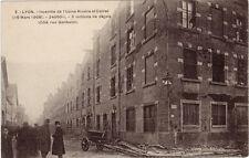 CPA -69-  LYON - Incendie de l'usine Rivoire et Carret  (16 mars 1908).
