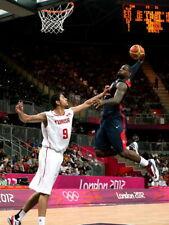 LeBron James Monster Dunk Posterize Olympics HUGE GIANT PRINT POSTER