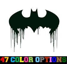 Decal Vinyl Sticker Car Truck Window - DC Comics Batman Bleeding Bat Symbol Logo