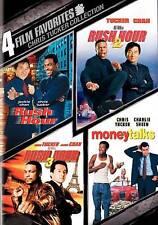 RUSH HOUR 1, 2, 3 Trilogy & MONEY TALKS Chris Tucker on DVD BRAND NEW!