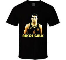 Nikos Galis Greek Basketball T Shirt