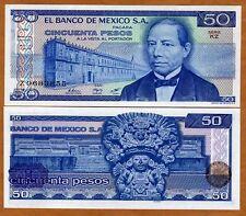Mexico, 50 Pesos, 27-1-1981, Pick 73, UNC