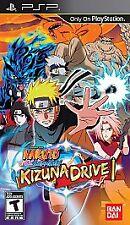 Naruto Shippuden Kizuna Drive UMD PSP GAME SONY PLAYSTATION PORTABLE